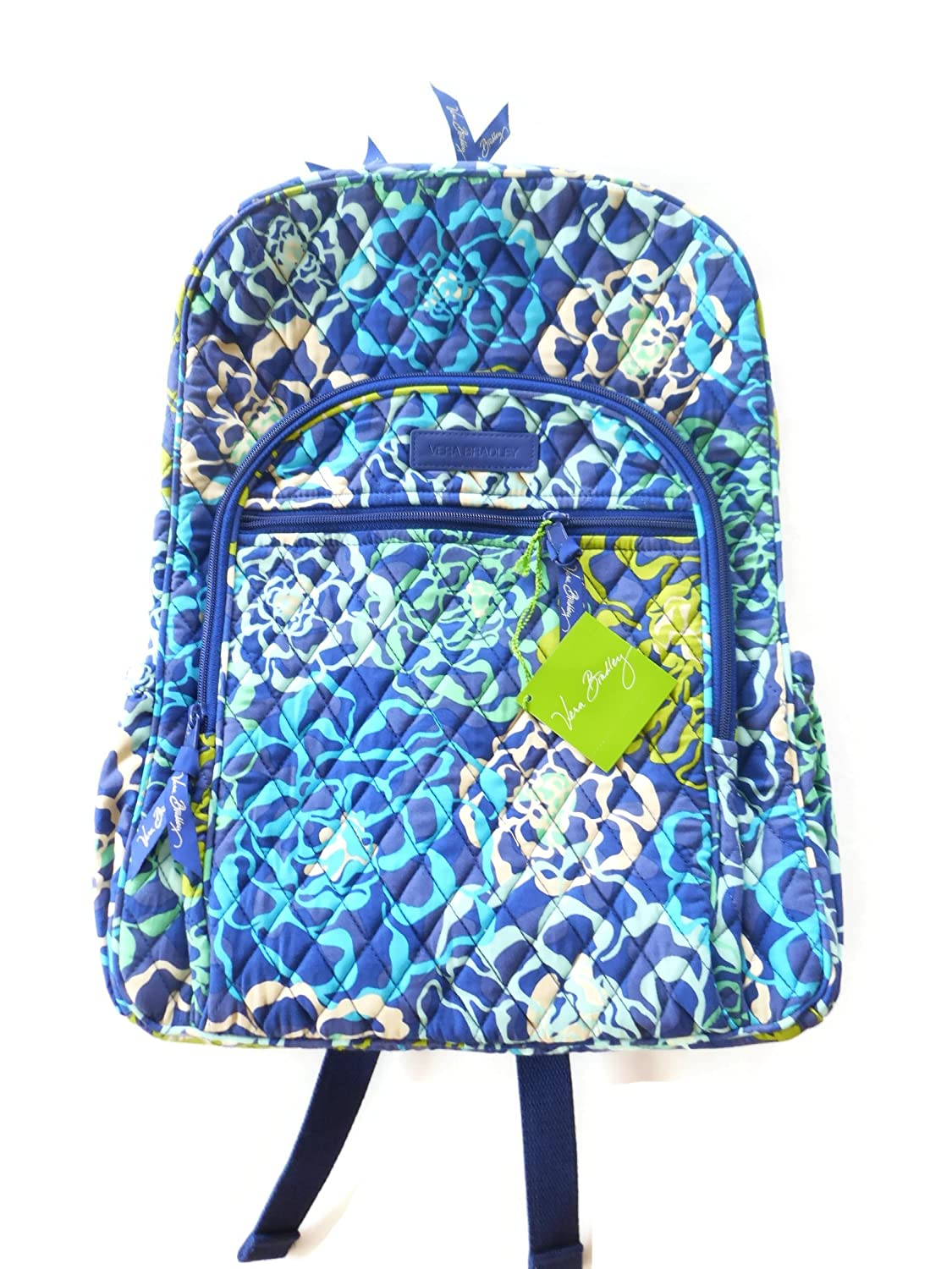 e6b20fe51 Vera Bradley Campus Backpack with Solid Color Interior (Updated Version (Katalina  Blues): Amazon.ca: Luggage & Bags