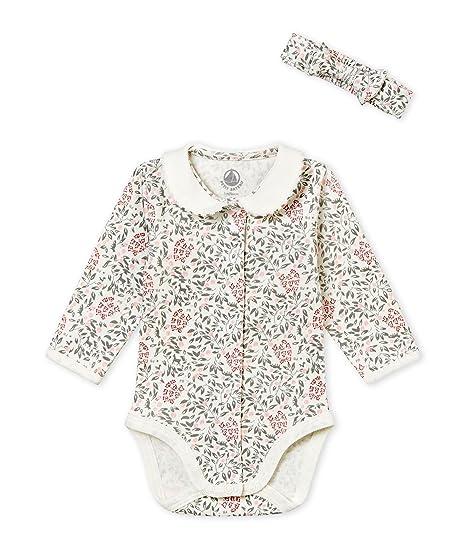 Petit Bateau Baby-M/ädchen Bekleidungsset