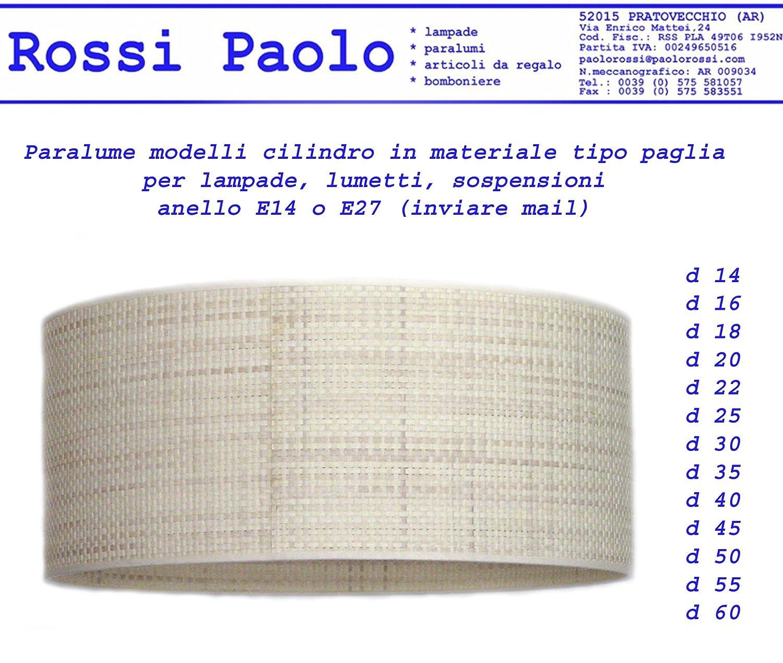 Decoración Del Hogar Fabricada En Italia Pantalla Cilíndrica Para Lámpara De Material Tipo Paja Producción Propria Hogar Y Cocina Aceautocare Net