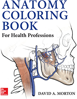 Anatomy Coloring Book The 4 Wynn Kapit Lawrence M Elson Amazon Com