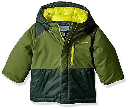 f27d8a1ac Columbia Boys' Little Lightning Lift Jacket, Pesto, Deep Woods, XX-Small