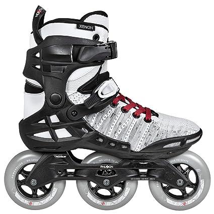 37028fe11ec Amazon.com : Powerslide Phuzion Xenon 100 Womens Skates : Sports ...
