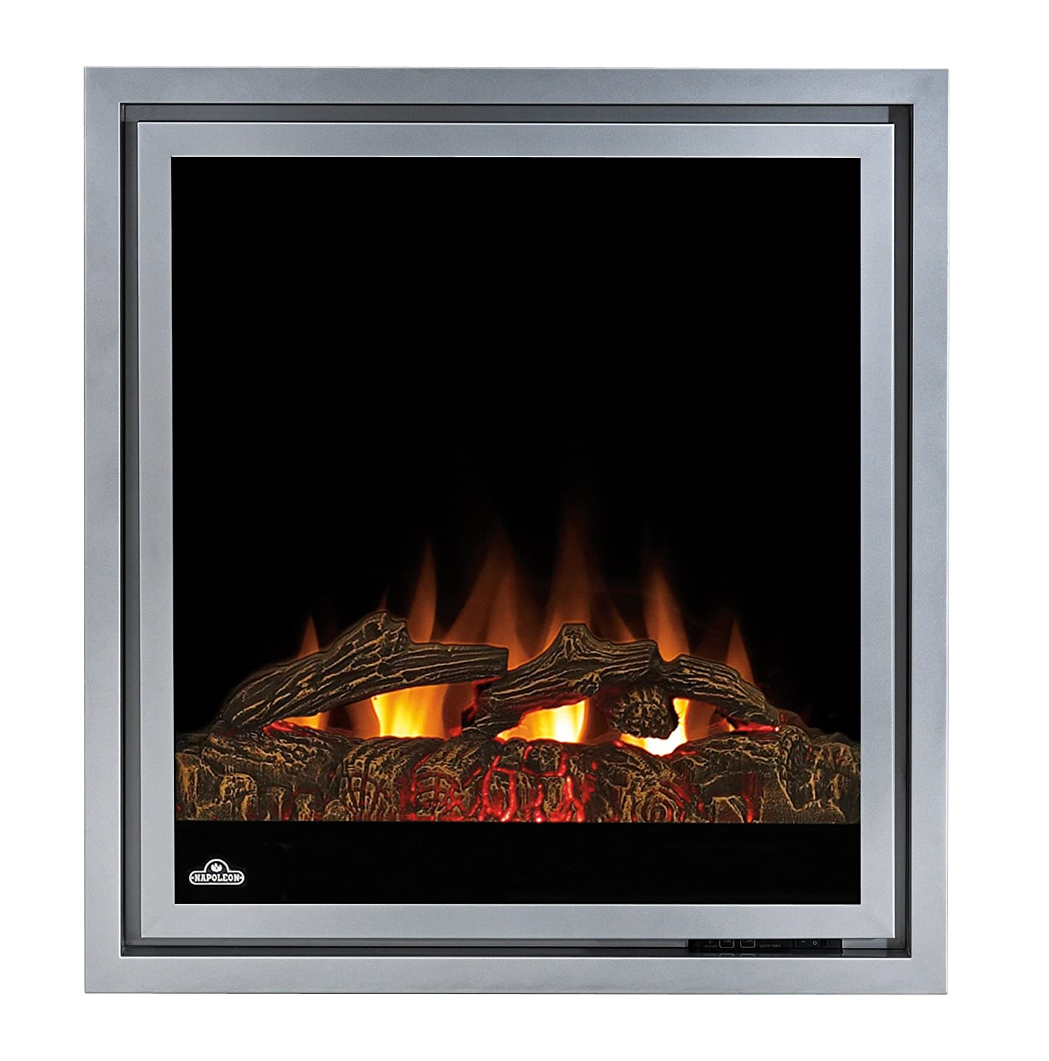 amazon com napoleon ef30 electric fireplace insert 30 inch home rh amazon com  dimplex 30-inch plug-in electric fireplace insert