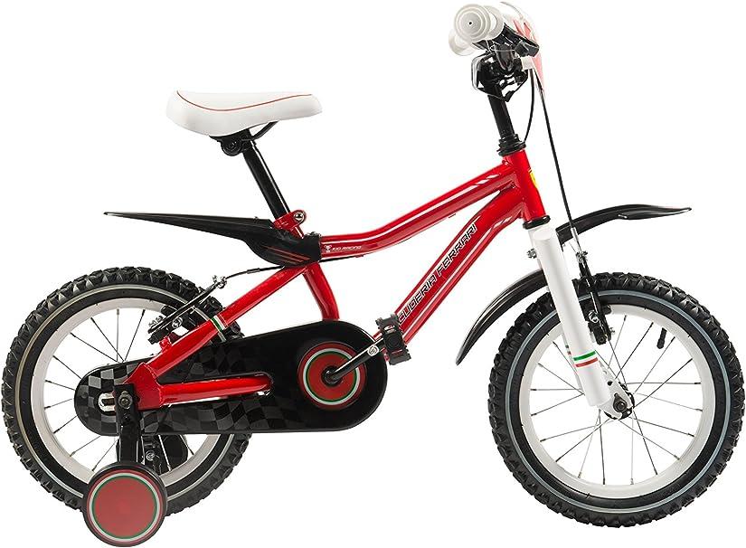 Scuderia Ferrari Kid Bike Racing 12 Red Amazon Co Uk Sports Outdoors