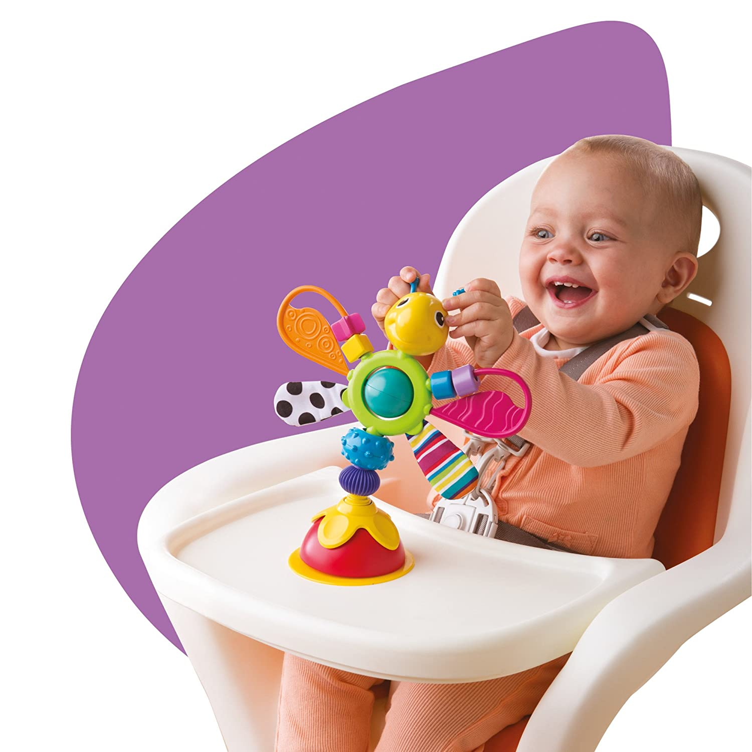 Amazon Lamaze Fred The Firefly Highchair Toy Baby