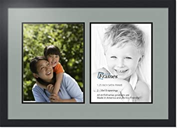 Amazoncom Arttoframes Collage Photo Frame Double Mat With 2 10x13