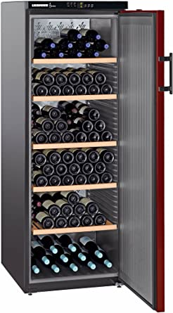 Liebher - Vinoteca Liebherr Wtr4211, 410L, 165,8X66X67,1Cm, Rojo ...