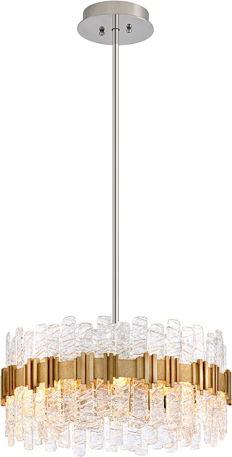 Corbett Lighting 256 48 Ciro Pendant 27 Silver Leaf Amazon Com