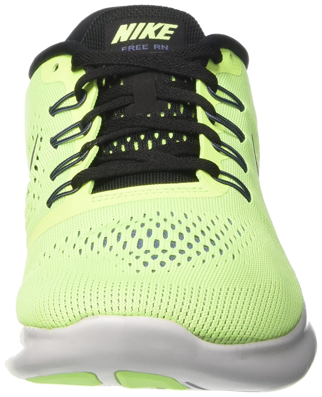 NIKE 8.5 Men's Free RN Running Shoe B01H2O2JJQ 8.5 NIKE D(M) US|Ghost Green/Black-Blue Moon 80d0c3