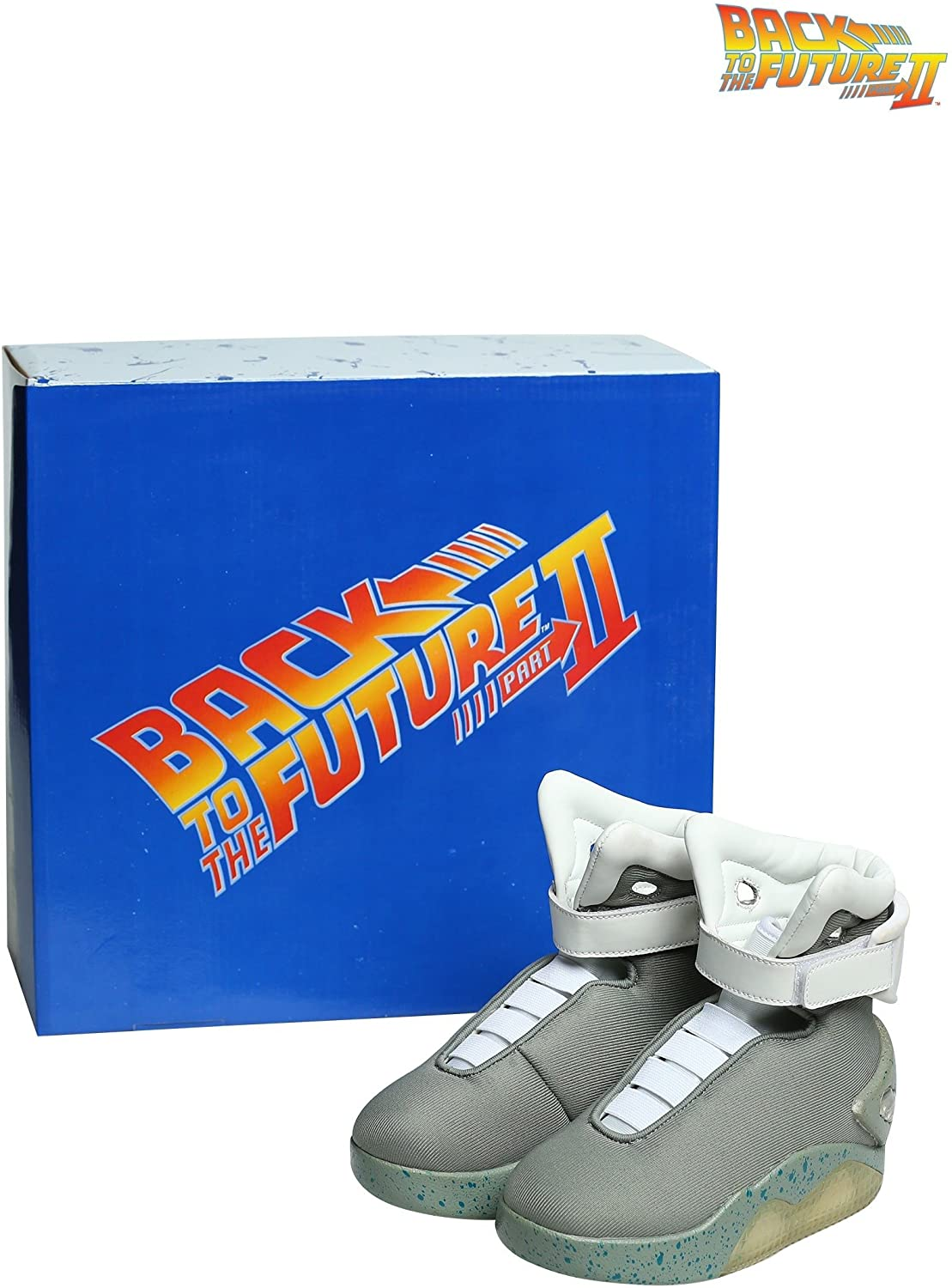 Back to the Future Childrens Light Up LED Shoes