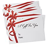 100 Mini Christmas Gift Card Envelopes #17
