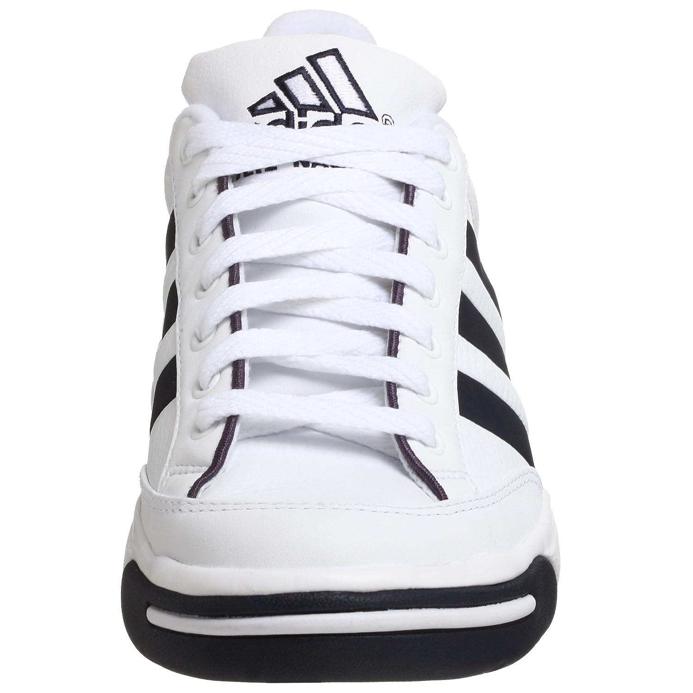 Amazon.com | adidas Mens Nastase Millenium Tennis Shoe, White/Navy, 13.5 M | Tennis & Racquet Sports