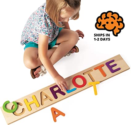 Boys and Girls Toddler Babies Personalised Wooden Toys Kids Gufts Learning