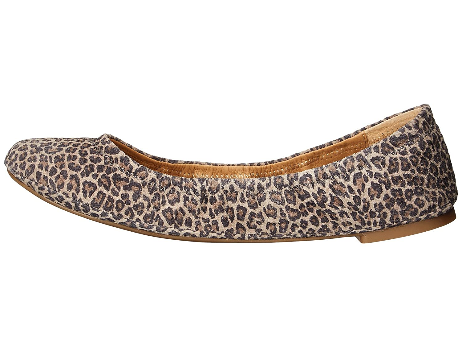 Lucky Brand Women's Emmie Ballet Flat B01CGWSSEO 7.5 M US|Brindle Persian Leopard
