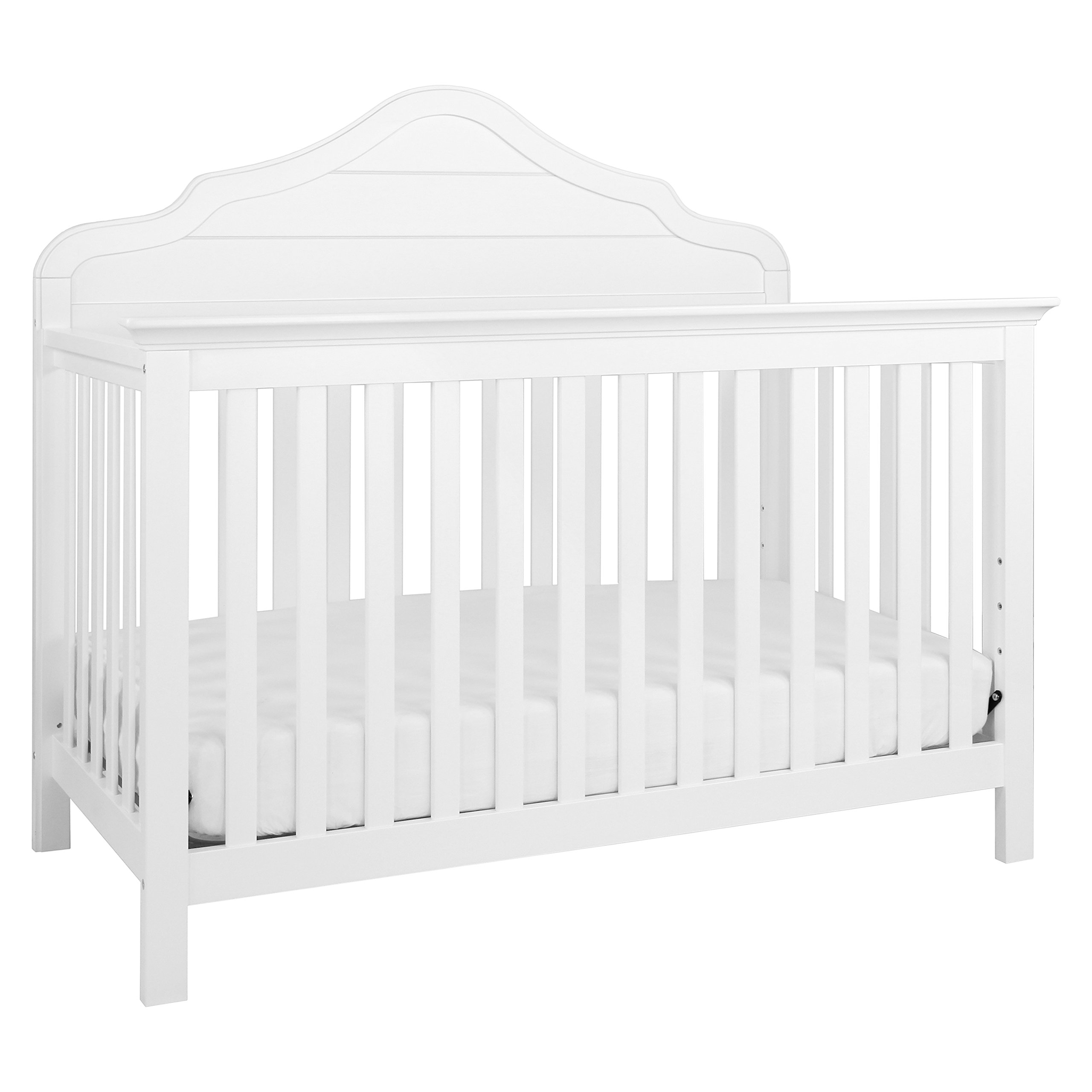DaVinci Flora 4-in-1 Convertible Crib in White Finish