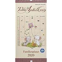 Tilda Apfelkern / Tilda Apfelkern. Familienplaner 2020