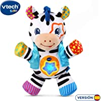 VTech - La Cebra cantarina, Peluche bebé Cuna