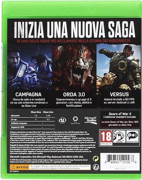 Gears of War 4: Amazon.es: Videojuegos