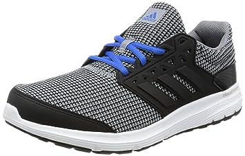 Adidas - Galaxy 31 M - Color  Black-Grey-Blue - Size  f320e5fe5