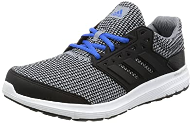 adidas Men's Galaxy 3.1 M Grey, Cblack and Blue Running Shoes - 11 UK/