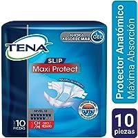 TENA Slip Maxi Protect; Protector Anatómico para Incontinencia, Talla CH/M; TENA; 10 Piezas