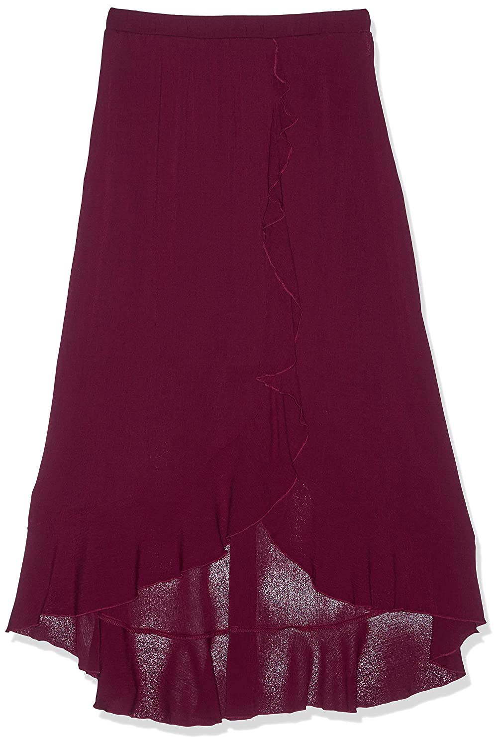Amy Byer Girls Big Ruffle Front Maxi Skirt with Belt