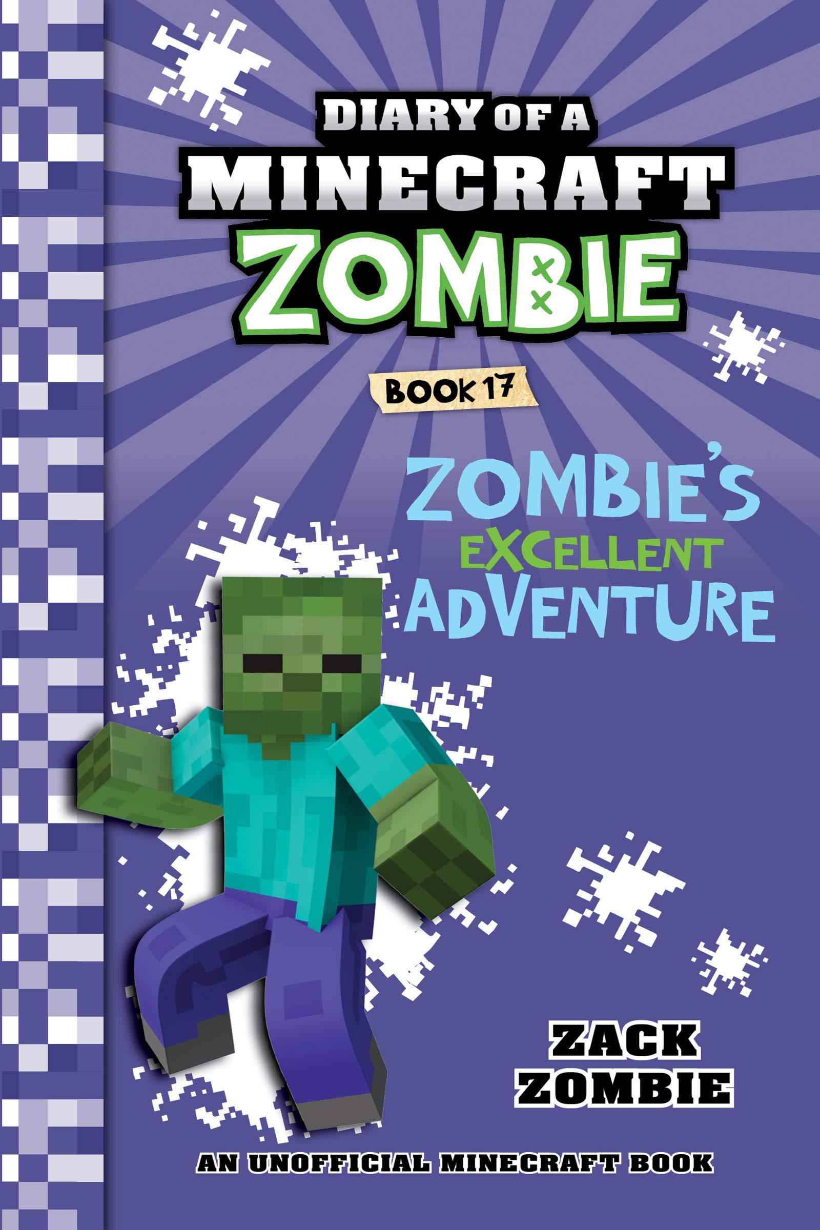 Minecraft Diary Of A Minecraft Zombie Book 17 Zombie S