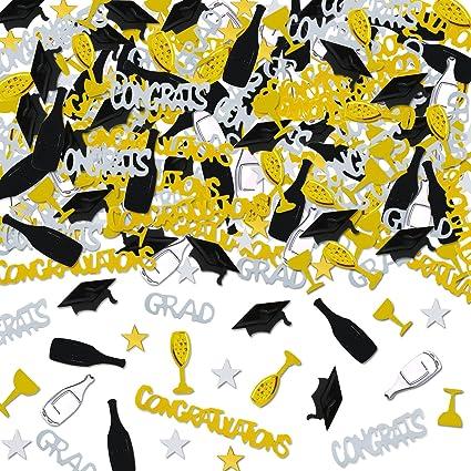 amazon com holicolor 100g graduation party confetti star cap wine