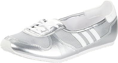 Tomar represalias oferta mimar  adidas Originals julrunner Ballerina w, Bailarinas Mujer, Plateado (Argent  (G61011)), 37: Amazon.es: Zapatos y complementos