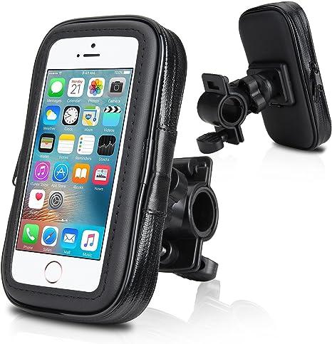 Supporto per bici e moto porta cellulare custodia borsa
