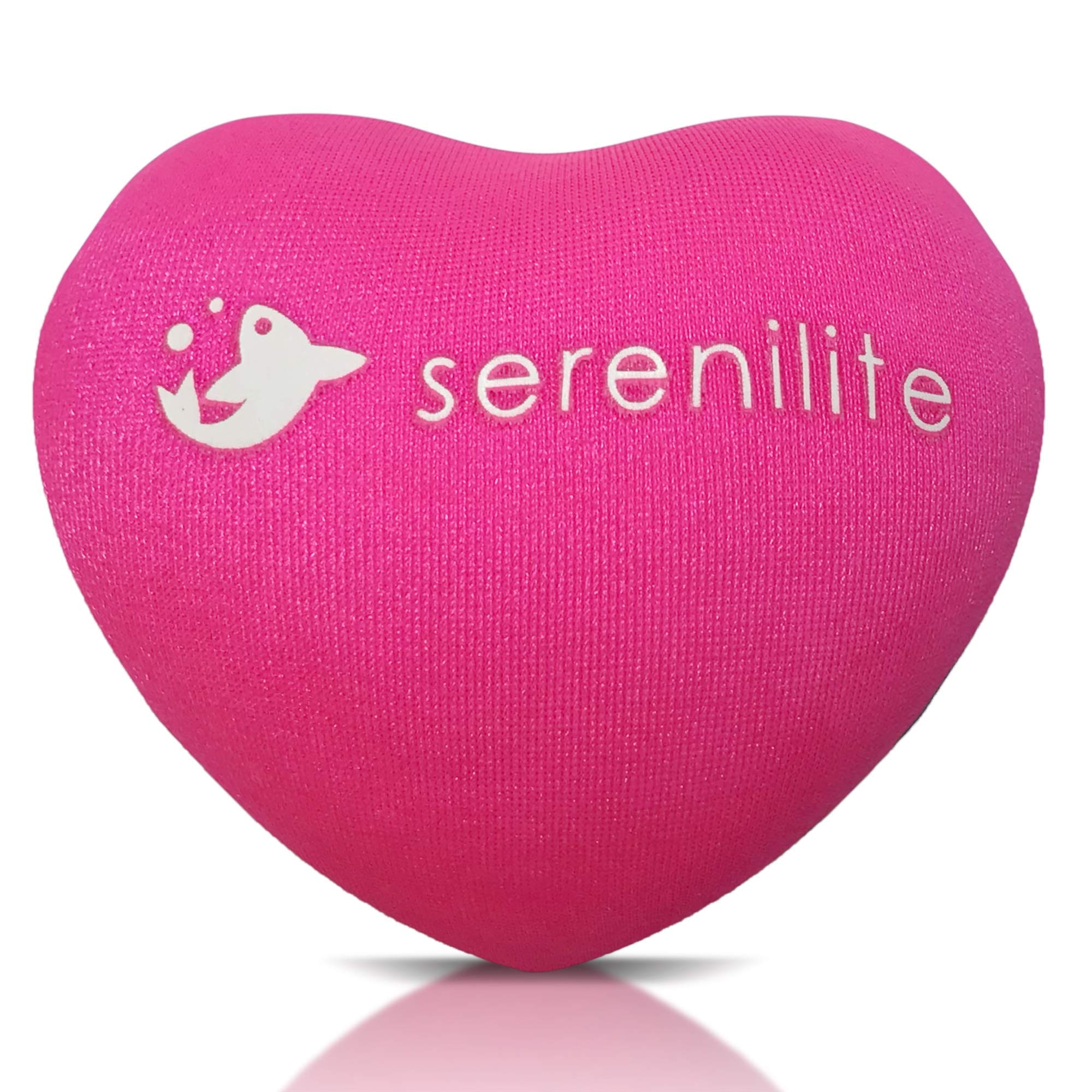 Serenilite Hand Therapy Stress Ball - Optimal Stress Relief - Great for Hand Exercises and Strengthening (Pink)