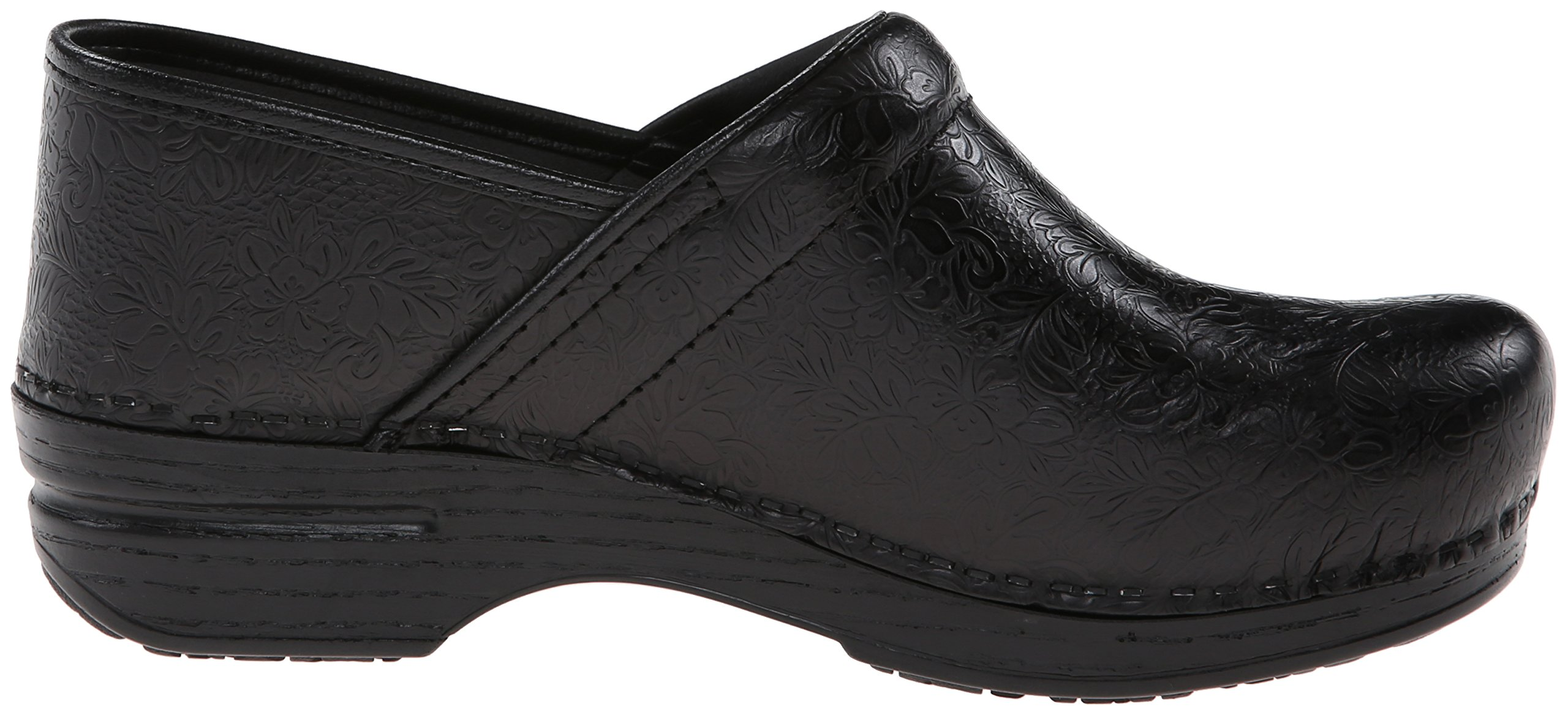 Dansko Women's Pro XP Mule,Black Floral Tooled,39 EU/8.5-9 M US by Dansko (Image #8)