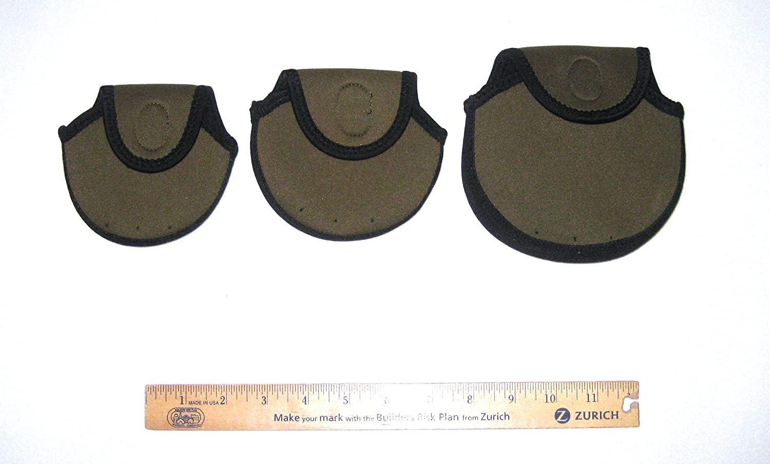 FLY FISHING REEL COVER 3 SIZE SET
