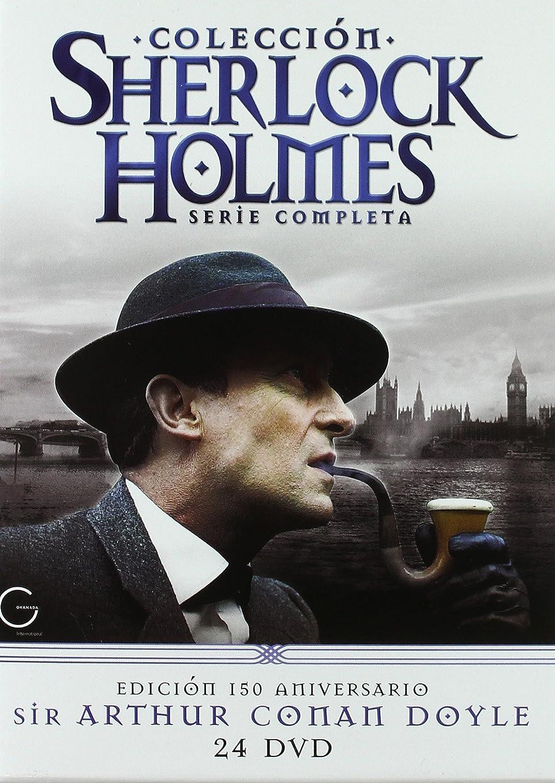 Sherlock Holmes: La Colección Completa [DVD]: Amazon.es: Jeremy Brett, David Burke, John Taylor, Alison Skibeckt, Edward Hardwicke, Rosalie Williams, Robin Hunter, Paul Williamson, Patrick Allen, Colin Jeavons, Charles Gray, Tom Chadbon, Alan