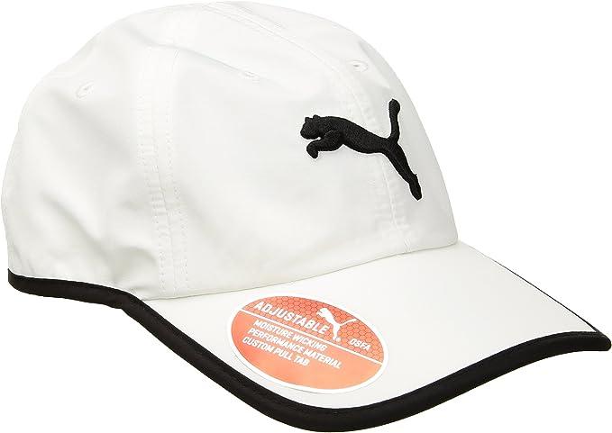PUMA Womens Evercat Running Cap, White/Black, OS: Amazon.es: Ropa ...