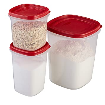 rubbermaid easy find lid food storage container bpafree plastic 6piece