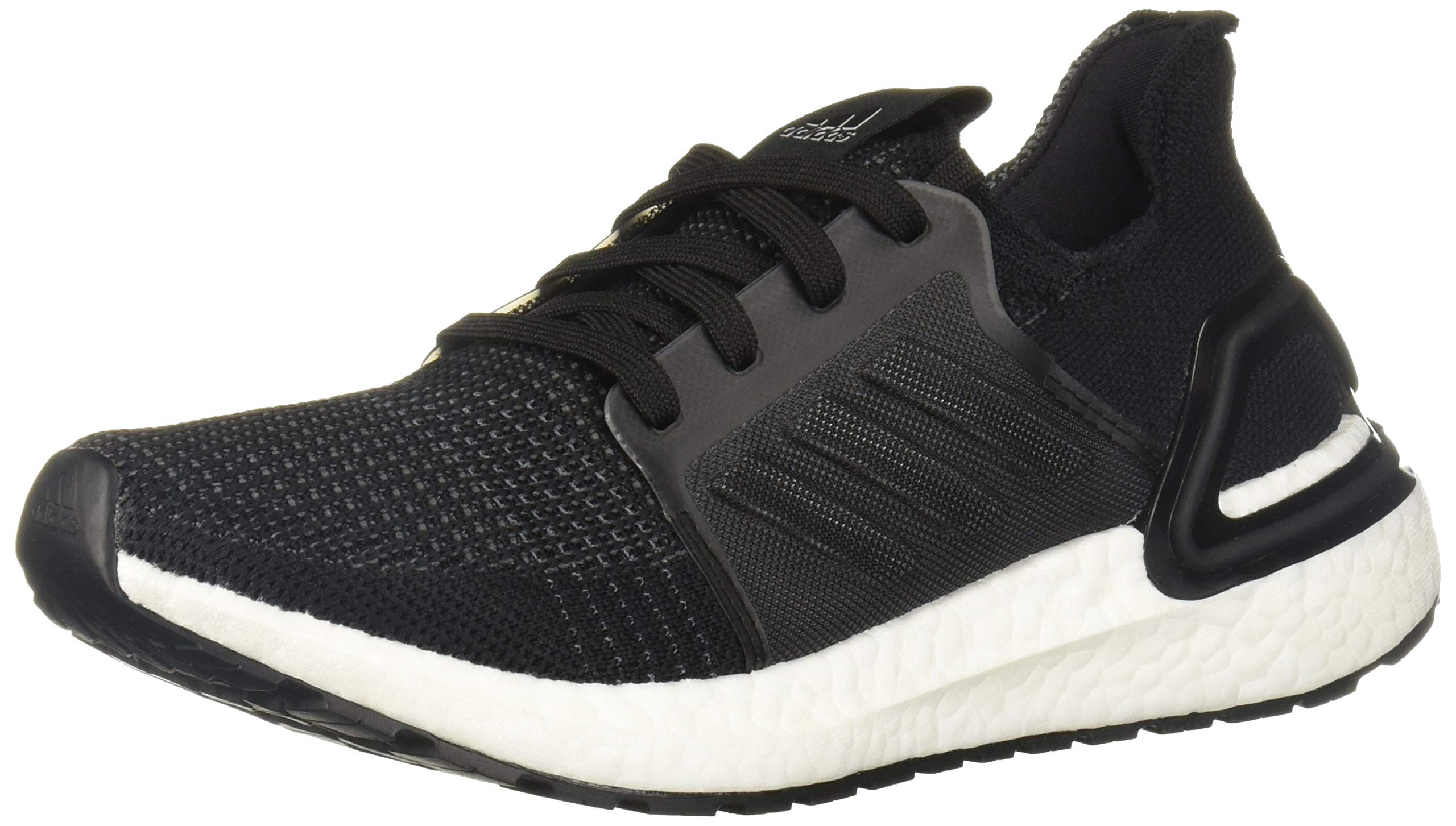 adidas Unisex Ultraboost 19 Running Shoe, Black/Grey, 4.5 M US Big Kid by adidas