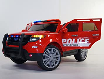 ride on police style car battery operated police car jeep car on electric