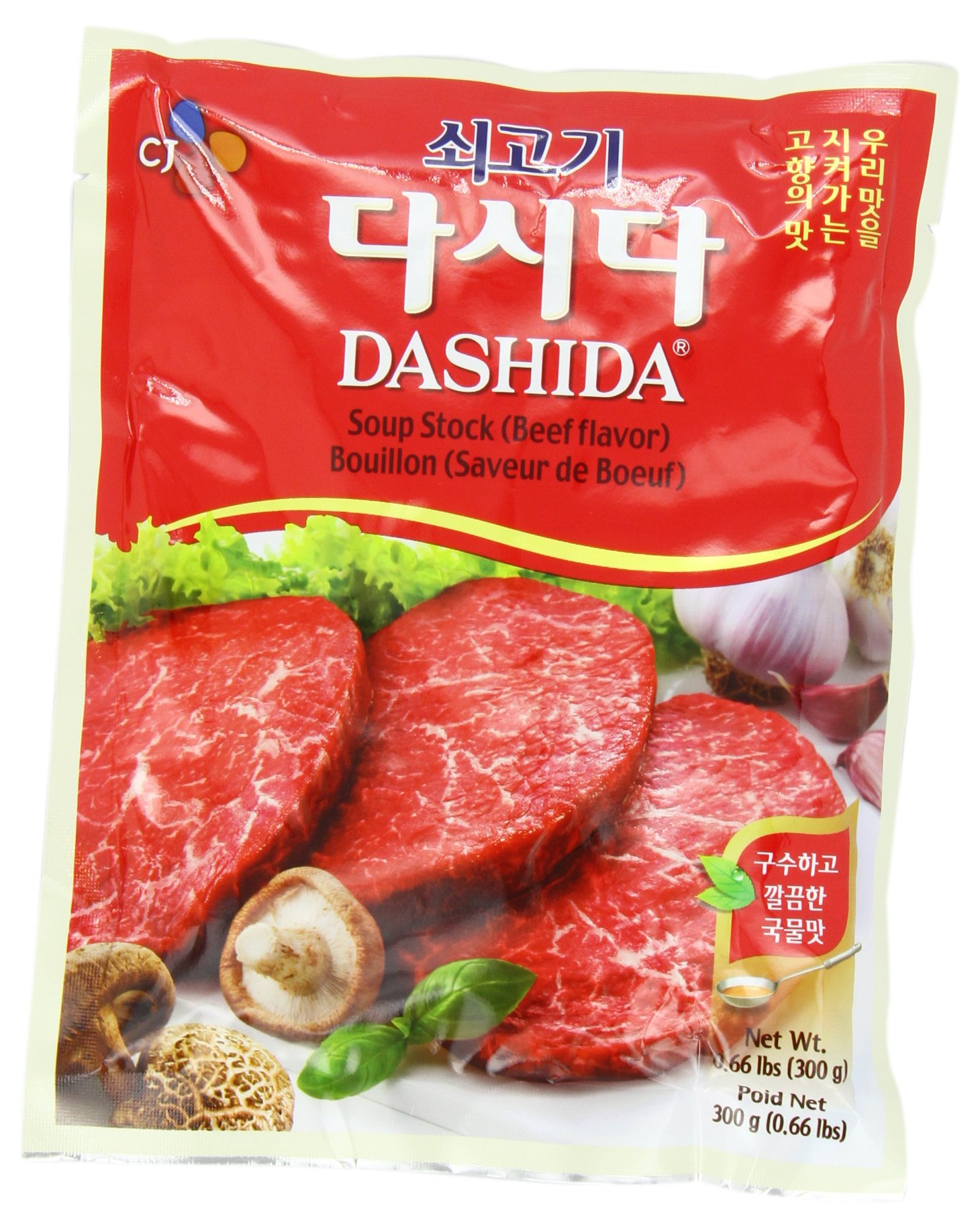 CJ Bek Sul Beef Soup Stock (Dashida), 10 58-Ounce Packages (Pack of 5)