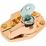 Defender Security U 9927 Keyed Sash Lock – Child-Proof Security Lock Only Unlocks With Key – For Aluminum, Vinyl or Wood…