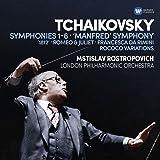 Tchaikovsky: Symphonies 1-6, Manfred Symphony, Francesca da Rimini, Romeo and Juliet fantasy overture, 1812, Rococo variations