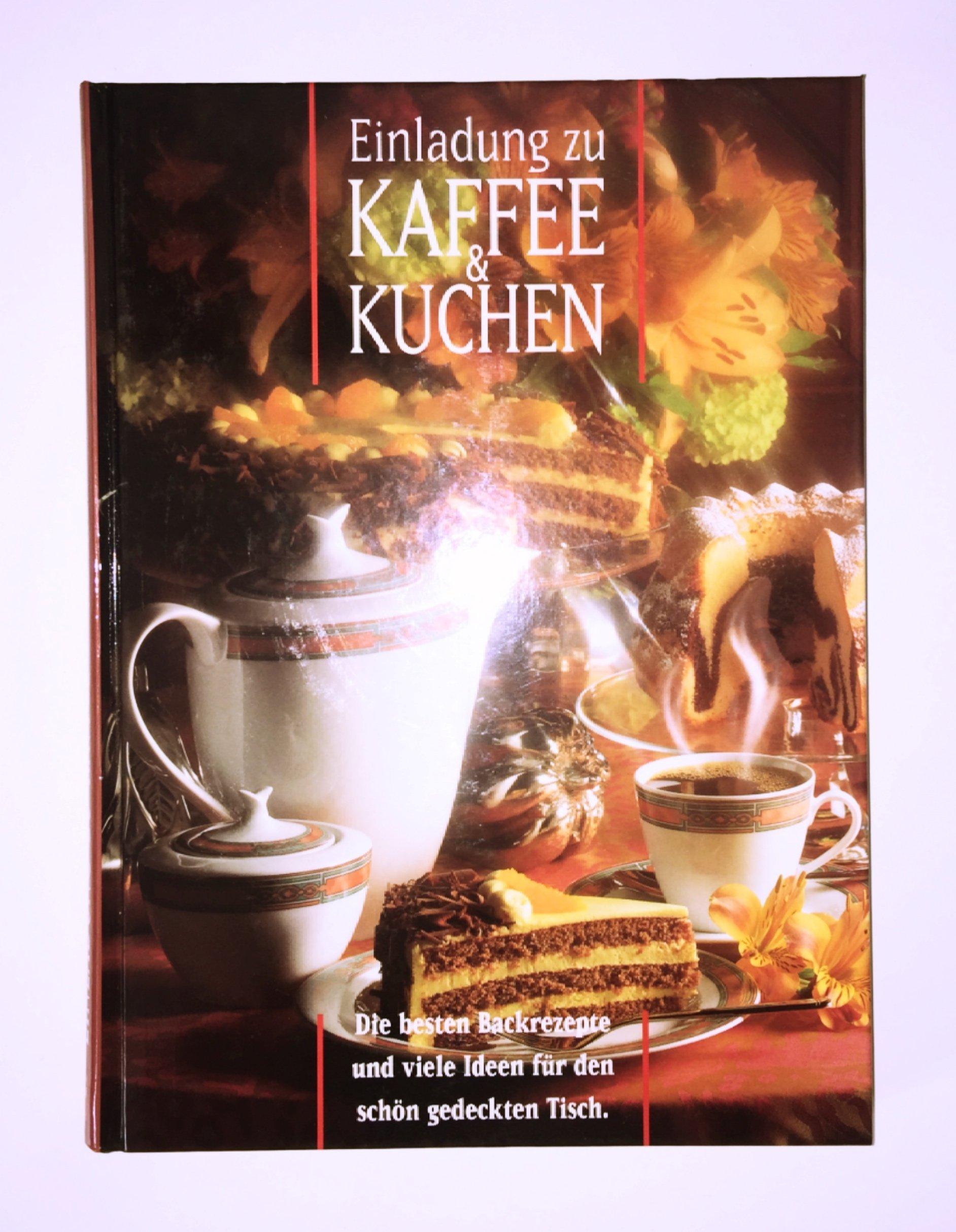 Einladung Zu Kaffee Kuchen Amazon De Bucher