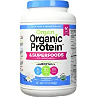 Orgain Organic Protein and Superfoods 2.70 Lbs, 2.7 Pounds