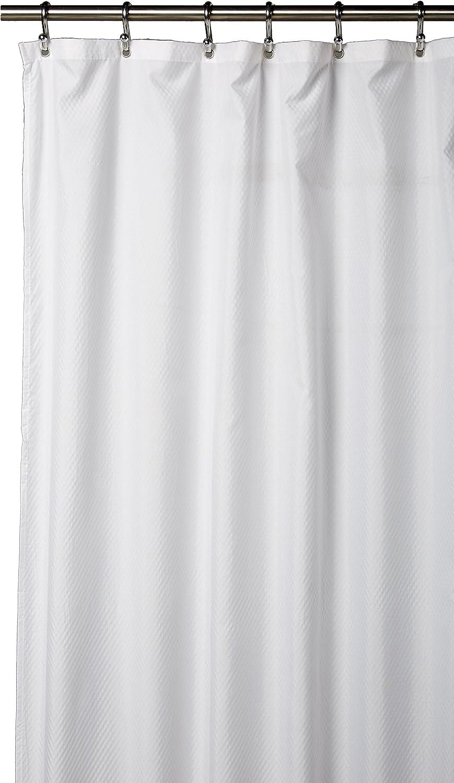 Splash Home Shower Curtain Liner, White