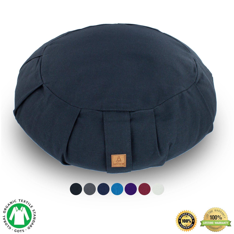 Amazon.com: Buckwheat Zafu And Zabuton Meditation Cushion