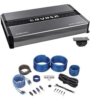 Crunch Power Drive 2100W Max Monoblock Class A//B Car Audio AmplifierPD2100.1