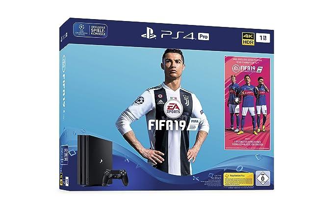Sony PlayStation 4 Pro 1TB + FIFA 19 Negro 1000 GB Wifi ...