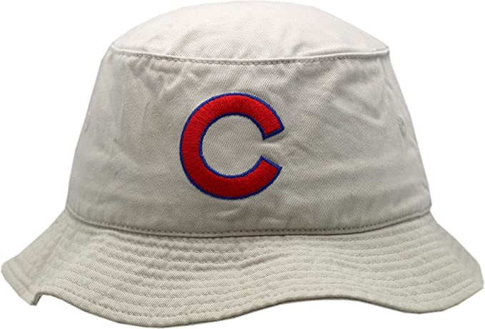 75d835cff American Needle Chicago Cubs Khaki American Needle Fitted Bucket Hat-5527-5528  (S-M