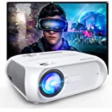 WiFi Projector 5500 Full HD, Ultra Portable Projector for Outdoor Movies, Compatible with iPhone/Android/Laptops/DVD Players/