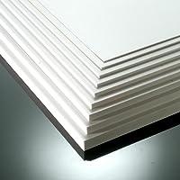 3mm White Matt Foamex Foam PVC Sheet 17 SIZES TO CHOOSE (420mm x 297mm / A3)